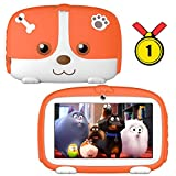 Kids Tablets,7inch Kids Android Tablets for Kids 1G+16G Android9.0 Quad Core Kids Tablets with WiFi Parental Control,GMS Certified,Bionic Design with Kids-Proof Case.