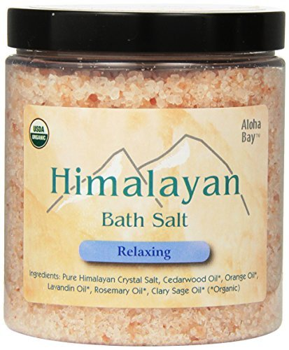Himalayan Organic Bath Salts Relaxing 24 Oz Aloha Bay by Aloha Bay ()