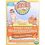 Earth's Best Whole Grain Mixed Grain Cereal Apple Sweet Potato - 8 oz.