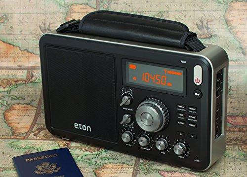 Amazon.com: Eton Field AM/FM With RDS And Shortwave Radio, Black ...