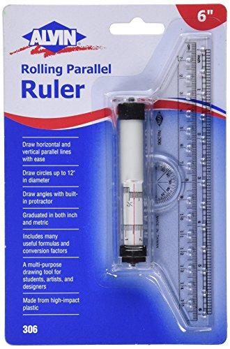 Alvin Rolling Parallel Ruler 306