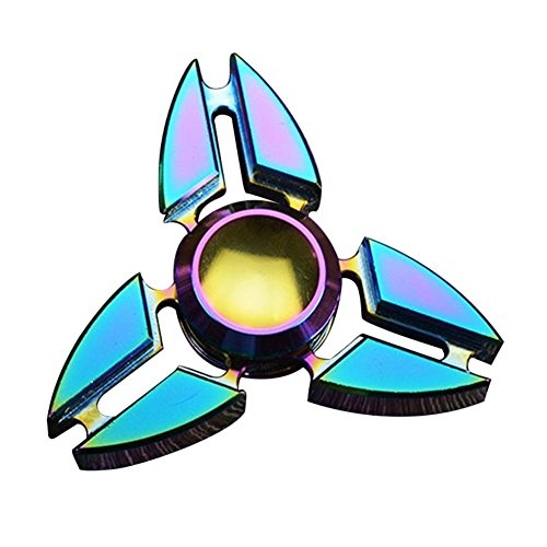 Hand Spinner Fidget Metal Coloré edc Toy Anxiety Relief For Killing Time Adultes Enfant Toy
