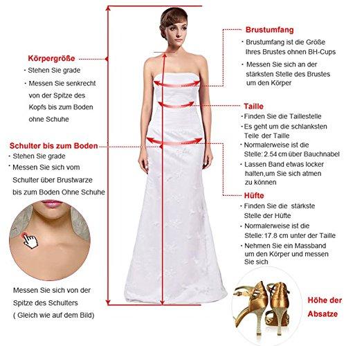 TOSKANA BRAUT - Vestido - Estuche - para mujer Traube