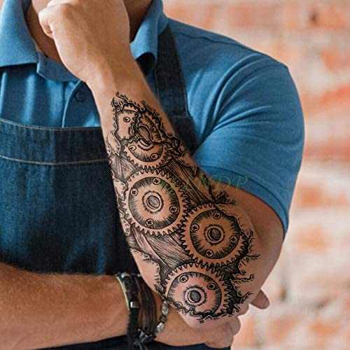 tzxdbh Etiqueta engomada del Tatuaje a Prueba de Agua Industria de ...