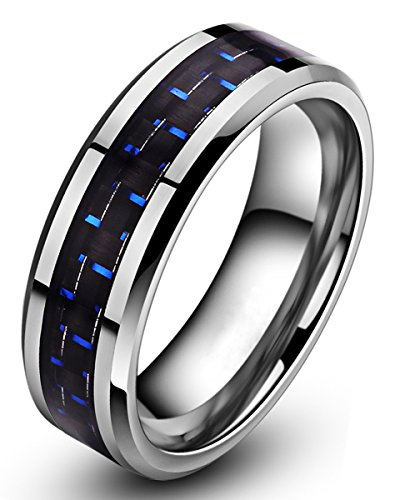 6mm-8mm-unique-durable-blue-and-black-carbon-fiber-inlay-polish-tungsten-ring
