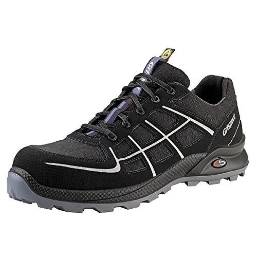Grisport grs701–45–Zapatos de seguridad de acción, tamaño: 45, negro (Pack de 2)
