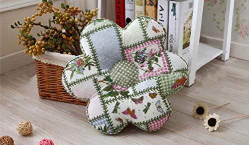 Amazon.com: YJ Bear patrón de flor de algodón alrededor ...