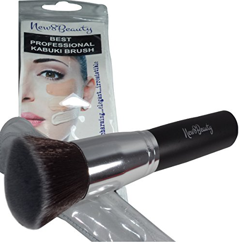 Best Foundation Brush Flat Top Kabuki Synthetic Face for sale  Delivered anywhere in USA