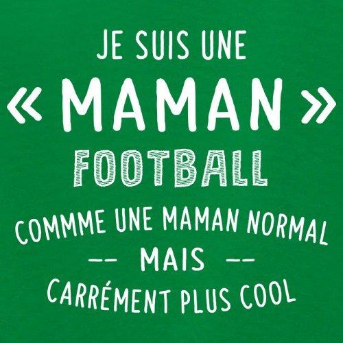 une maman normal football - Femme T-Shirt - Vert - XL