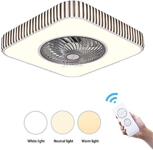 LED Ventilador de techo Luz Moderno Minimalista Delgado Estudio de ...