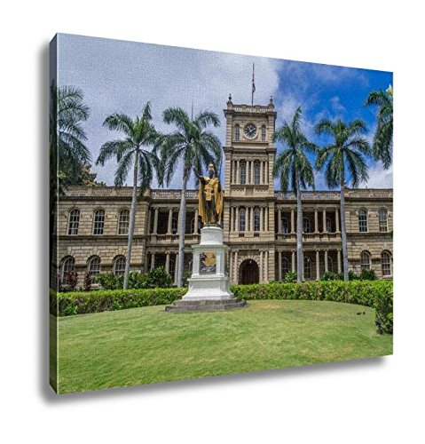 Ashley Canvas, King Kamehameha I Statue In Honolulu Hawaii, Home Decoration Office, Ready to Hang, 20x25, AG6406561 by Ashley Canvas