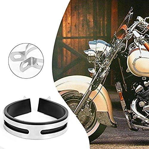 TOOGOO Motorrad Auspuff Muffler Clamp Fest Ring St/ütz Halterung 110Mm