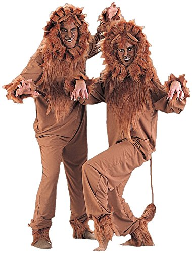Charades Adult Lion Costume, Large ()