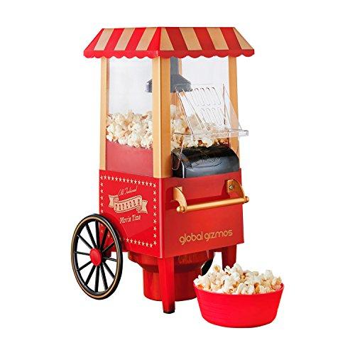 Global Gizmos 50300 Fun Fairground Party Popcorn Maker Machine, 0.27 Litre,...