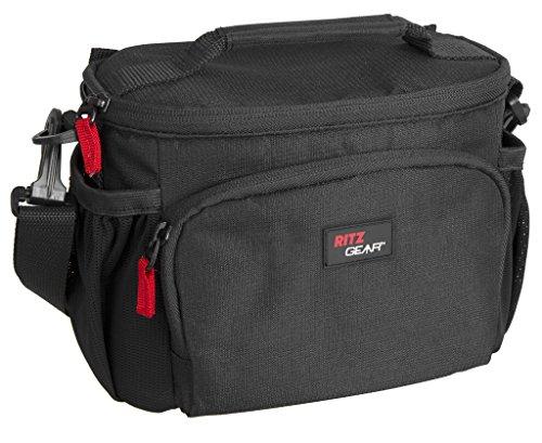 deluxe dslr bag shoulder shock