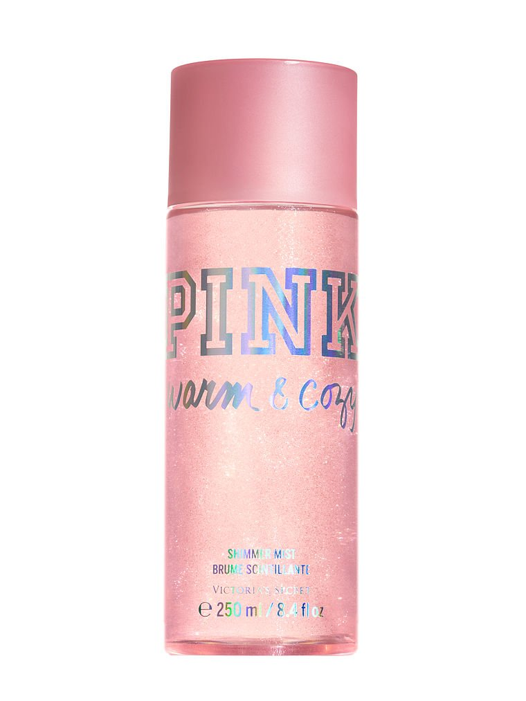 Victoria's Secret PINK Warm & Cozy SHIMMER Mist 250ml 8.4 oz by Victoria's Secret Victoria's Secret