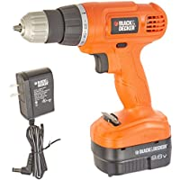 Black+Decker Gc960 9.6 Volt Nicad Drill/Driver Features
