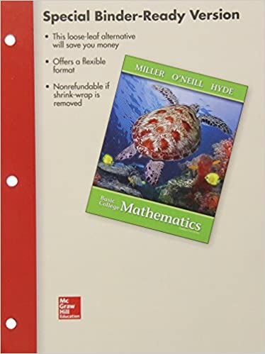 Loose Leaf Version for Basic College Mathematics