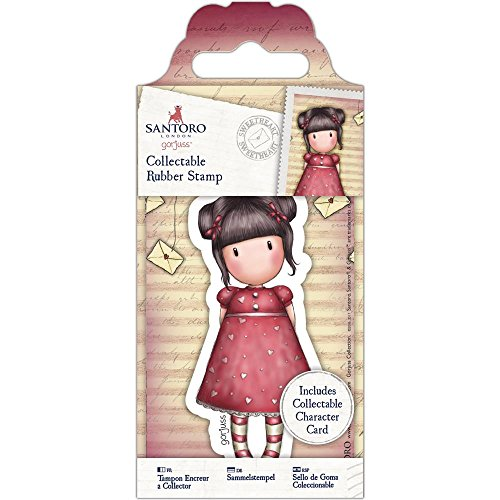 Gorjuss Collectable Mini Rubber Stamp - No. 54 (Sweetheart Stamp)