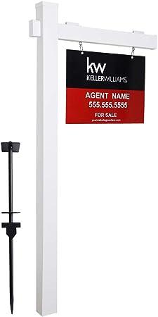 Amazon.com: Kdgarden Vinilo PVC 6ft. Real Estate Sign Post ...