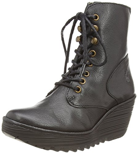Fly London Ygot, Women's Boots Black (Black)