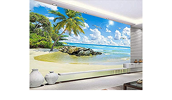 Fondo de pantalla personalizado Fondo marino Coconut Tree ...