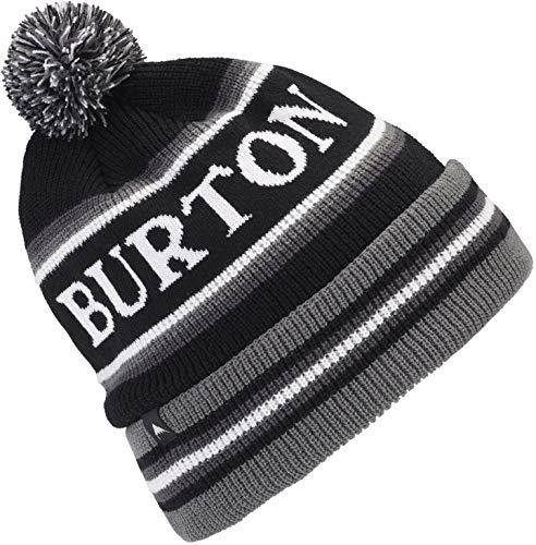 Burton Black Hat - Burton Unisex Trope Beanie, True Black, One Size