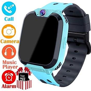 Amazon.com: Kids Smart Watch GPS Tracker - [SIM Card ...