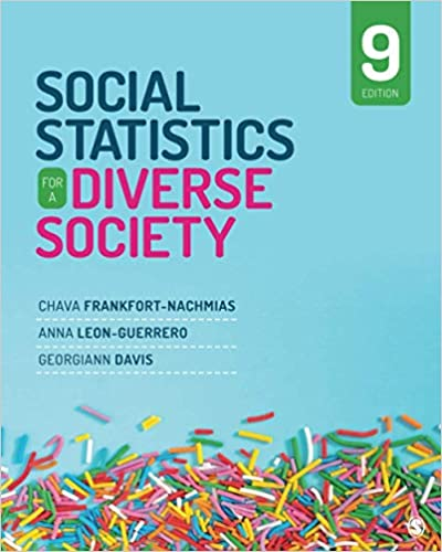 Social Statistics for a Diverse Society, 9th Edition - Original PDF