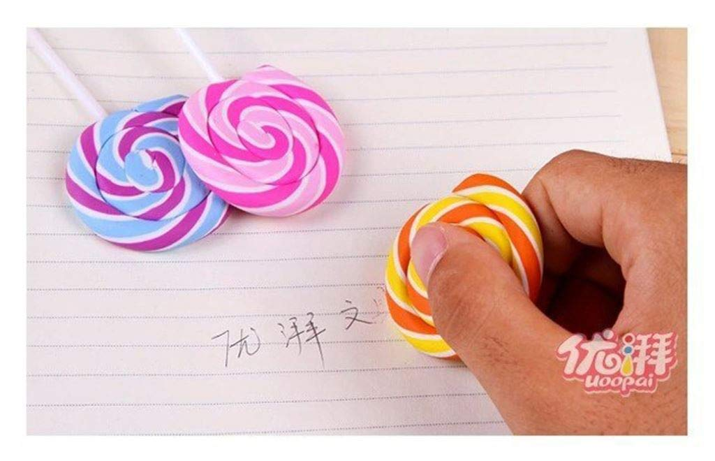 20 pieces/lot Best selling Eraser,Wholesale J-Korea rubber, lovely, lollipop eraser,Gifts,Multifunction by PPL21 (Image #3)