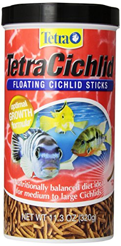 TetraCichlid Floating Cichlid Sticks, Pond Fish Food, Nutritionally Balanced - 16350