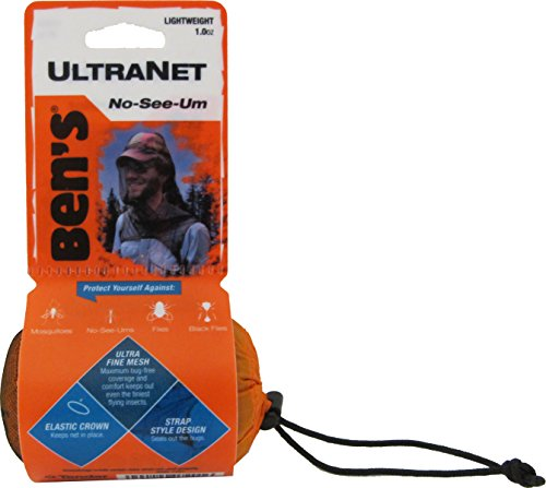 Ben's UltraNet Fine-Weave No-See-Um and Mosquito, Tick and Insect Head Net, 1.0 oz.
