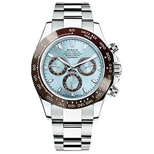 Rolex Cosmograph Daytona Ice Blue Dial Platinum Mens Watch 116506