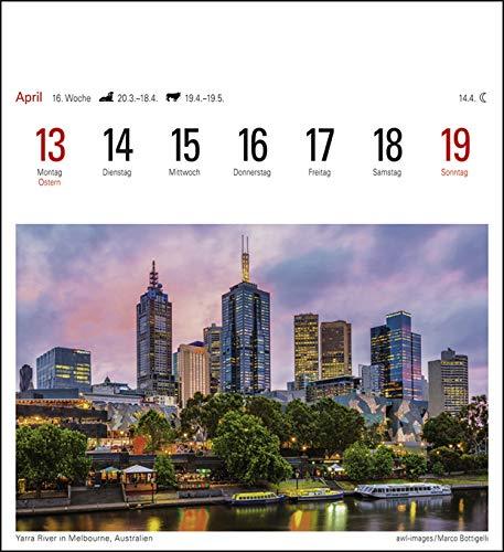 Traumziele Sehnsuchtskalender Kalender 2020 Harenberg-Verlag Postkartenkalender mit 53 heraustrennbaren Postkarten 16 cm x 17,5 cm