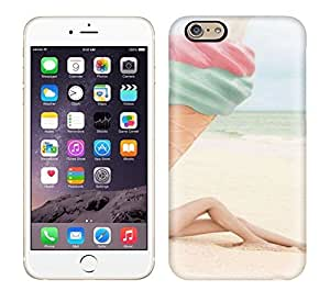 Best Power(Tm) HD Colorful Painted Watercolor Pastel Beach Hard Phone Case For Iphone 6 wangjiang maoyi