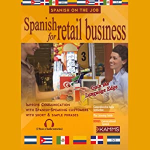 Spanish for Retail Business Audiobook