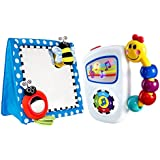 Sassy Floor Mirror, Blue with Take Along Tunes Musical Toy