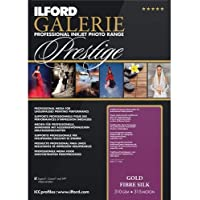 ILFORD 2004001 GALERIE Prestige Gold Fibre Silk - 13 x 19 Inches, 25 Sheets