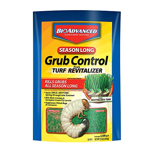 Bayer Cropscience Number-12 Season Long Grub Control Plus Revitalize