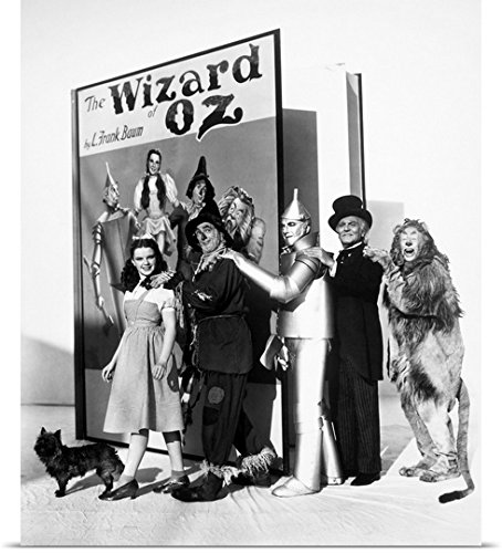 Bert Lahr Cowardly Lion Costume (Great BIG Canvas Poster Print entitled Wizard Of Oz, 1939)