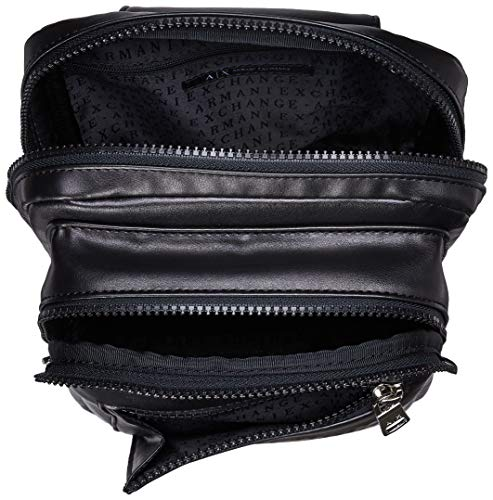 nero borse a Bag Sling Exchange tracolla nero Armani e Shoppers uomo xwqXYSz4z