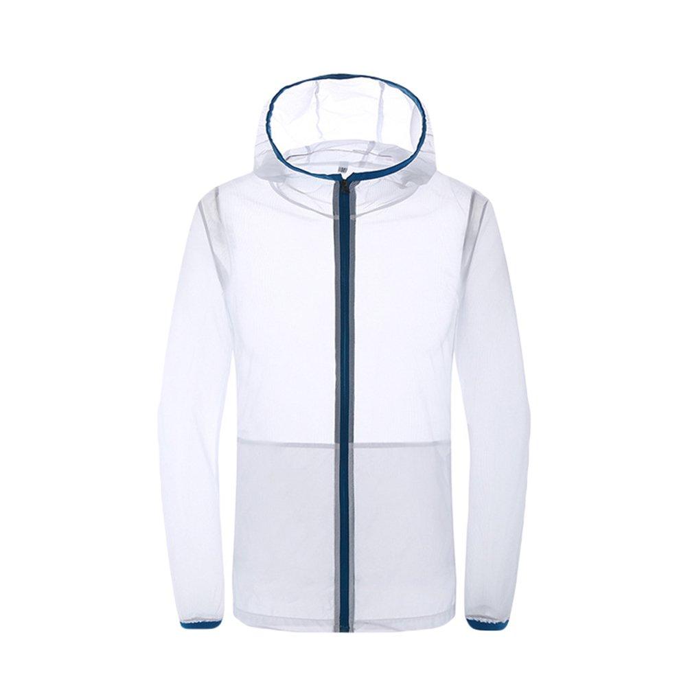 Dooxi Unisex Super Leggero Sportiva Esterna Giacche Respirabile Asciutta Rapida Proteggere la Pelle Cappotti