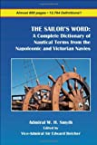 The sailor's Word, William Henry Smyth, 1934757411