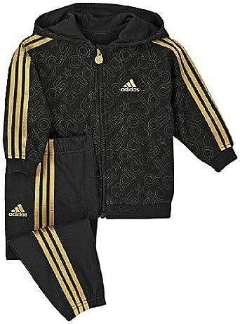 Descuido álbum Caracterizar  Amazon.com: adidas Baby Boys 'Bling Bling Jogger – Chándal, 6-9 meses,  Negro / Dorado: Clothing