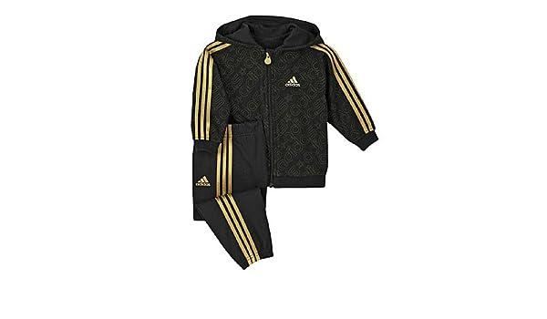 Amazon.com: Adidas Baby Boys Bling Bling Jogger Tracksuit 6-9 Months Black / Gold: Clothing