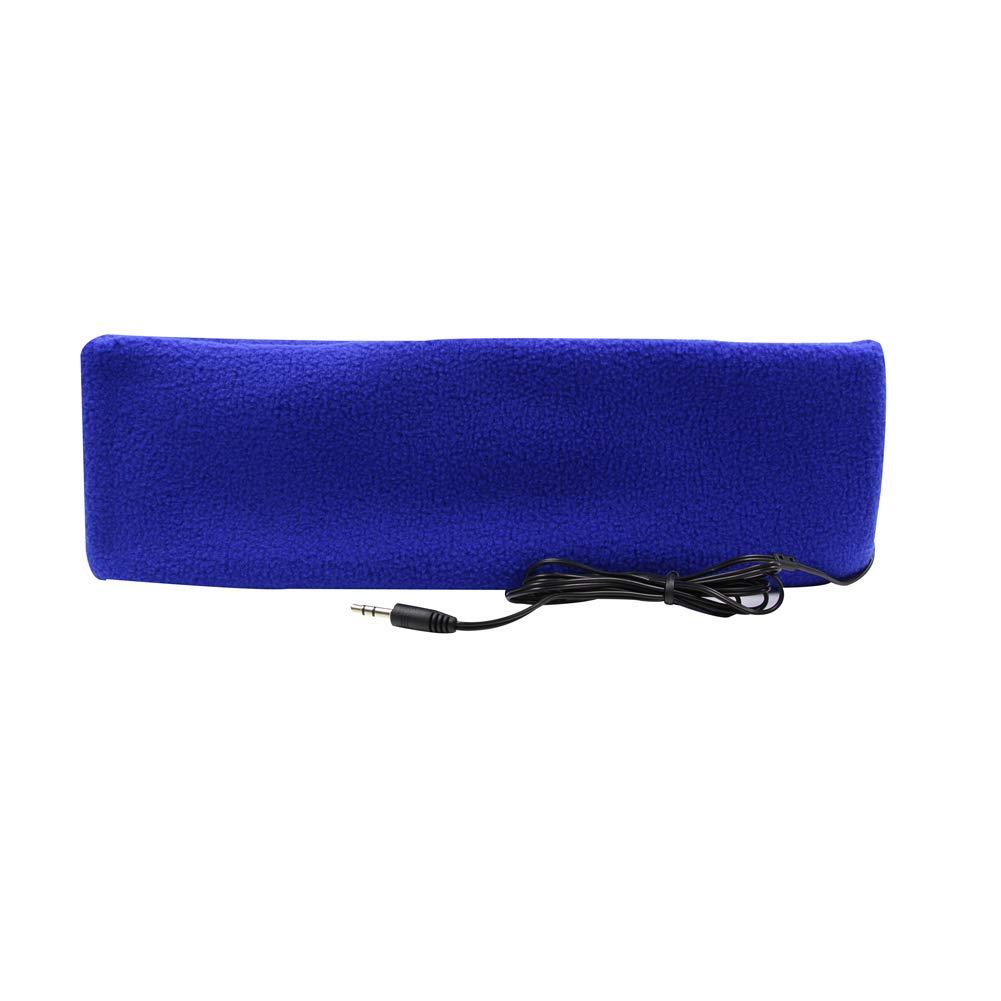 Hanerdun スリープヘッドフォンヘッドバンド ヘッドフォン 超薄型イヤホン 最も快適なヘッドフォン 睡眠 旅行 トレーニング 不眠症 HPN-1014_LIGHT BLUE  ライトブルー B0744B4FGG