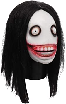 youngfate Máscara Facial De Halloween Máscara De Terror Killer Jeff Mask Cosplay Accesorios De Cosplay De Halloween para Festivales, Al Aire Libre, SPO: Amazon.es: Hogar
