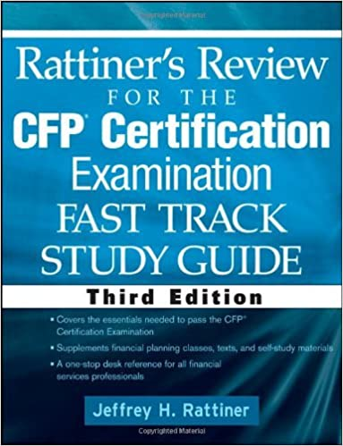 Rattiner S Review For The Cfp R Certification Examination