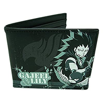 Great Eastern Entertainment Boys Fairy Tail - Gajeel & Lily Wallet: Toys & Games