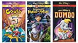 A Goofy Movie (Gold Classic Collection) / Dumbo (60th Anniversary Edition) / Ichabod and Mr. Toad (Gold Classic Collection) VHS